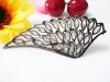 Dark angel wings Women's shoes shoe accessories Zircon shoes flower shoe buckle shoes accessories accessories repair par