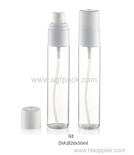 40ml 50ml PETG bottle with sprayer