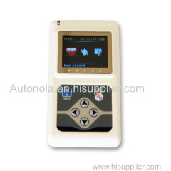 12 Leads 48hours Dynamic ECG Holter Recorder System with CE