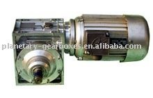 WP worm gear reducer High Torque Industrial WPDO cast iron shaft mounted gearbox