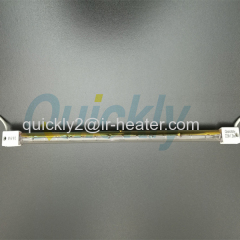 Halogen tungsten drying use infrared heater lamps
