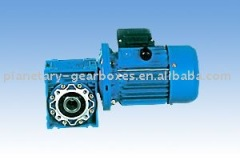 F parallel shaft helical gear speed reducer