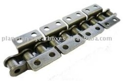 Roller Chains with Bent Attachments DIN 8187-K2 = Wide Version 2 x p Double-Sided