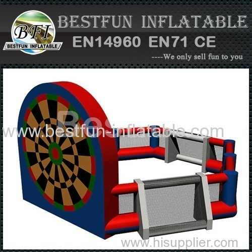 Multifunction Inflatable Football Shooting Dart Games