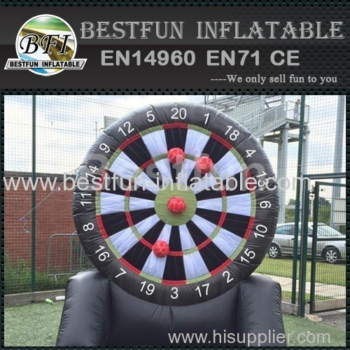 Factory Price Inflatable Soccer Dart Games