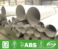 Welded Schedule 40s Stainless Steel Pipe