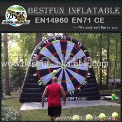 outdoor Inflatable velcro target game