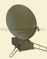 Alignsat 1.2m Box Type Portable Offset Antenna