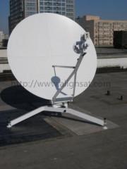 Alignsat 1.8m C Band Carbon Fiber Flyaway Antenna