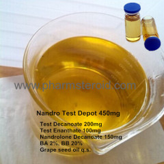 Premade Injection Steroid Nandro Test Depot 450mg Muscle Building