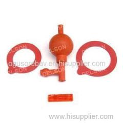 Silicone Rubber Parts OEM ODM Molded Rubber Parts Rubber Component For Seal