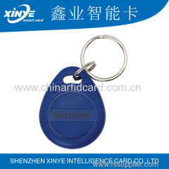 TK4100 T5577 125Khz smart rfid tag/ key fob/ key chain