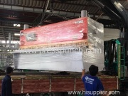 Guillotine shearing machine arrived to Thailand customer side