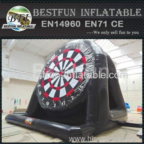 Double giant inflatable soccer dart board for kids N adults