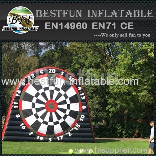 Soccer goal with shooting target /inflatable soccer goal