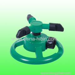 High quality water spray device gardening irrigation system 360 degree automatic rotating irrigation sprinkler