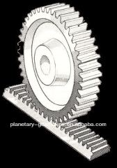 high precision straight teeth gear rack