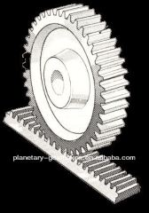 Customized Round Gear Rack And Pinion