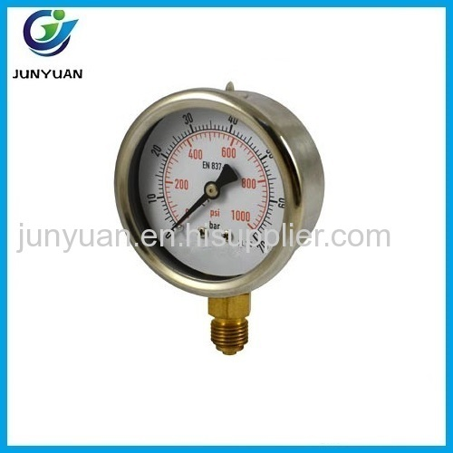 High Quality Factory Price vacuum pressure guage with back mounting