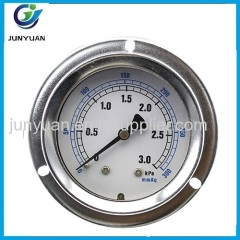 "china supplier 4"" low pressure guage dual manometer"