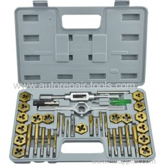 40 pcs Tap and Die Set