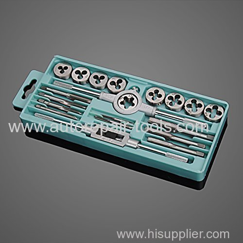 20 pcs Tap and Die Set