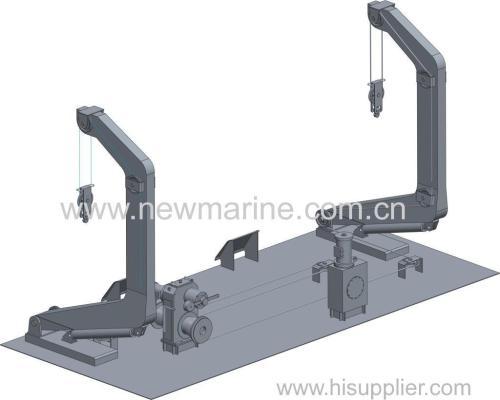 Hydraulic Luffing Arm Type Davits