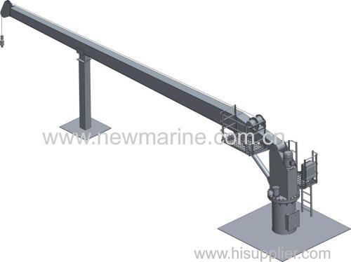 Hydraulic Crane and Davit (Provision Crane /Hose Handing Crane)