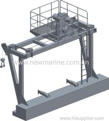 Plattform Davit (New Marine)