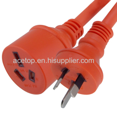 3 Pin 15A 250V Australian standard Power Cords