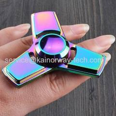 Colorful Creative Funny Metal Hand Spinners High Speed EDC Fidget Toys For Relieving ADHD Anxiety Stress And Boredom