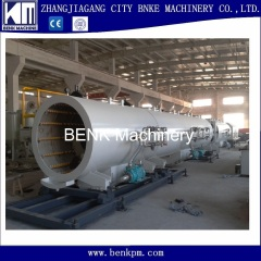 710-1200mm PE pipe extrusion line with capacity 1500KG per hour