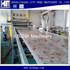 Faux PVC marble sheet extrusion machine