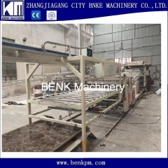 PVC Imitation Marble Sheet Extrusion Machine with PLC control
