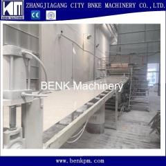 1200mm pvc imitated marble stone sheet making machine