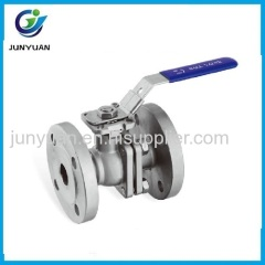 ANSI FLANGED BALL VALVE WITH DIRECT MOUNTING PAD