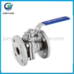DIN FLANGED BALL VALVE WITH DIRECT MOUNTING PAD