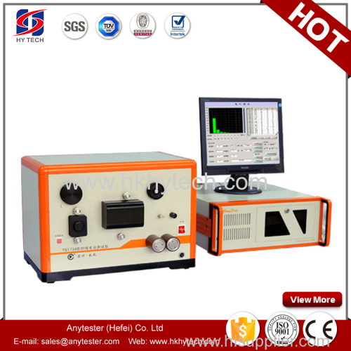 textile testing equipment of yarn hairiness tester