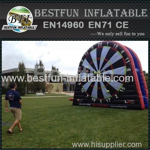 Inflatable Soccerdarts with Velcro Ball