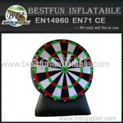 inflatable dartboard soccer game