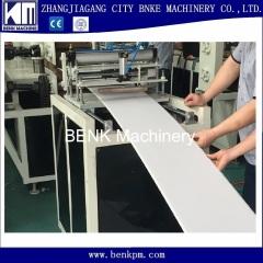 Teto de PVC que faz a máquina