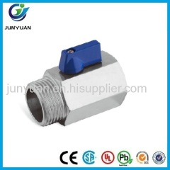 F/M STAINLESS STEEL MINI BALL VALVE WITH HANDLE