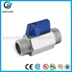 POPULAR M/M MINI STAINLESS STEEL BALL VALVE
