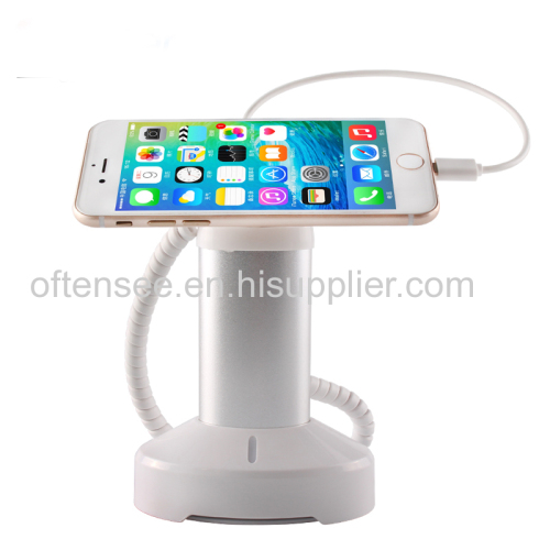 Alloy magnetic mobile phone charger security alarm display holder