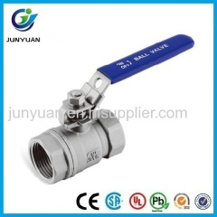 REDUCE PORT BALL VALVE 1000PSI WITH HANDLE