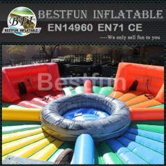 Outdoor Human Hungry Hippo Ball Inflatable