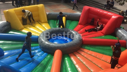 Hippo Chow Down bungees running sport game