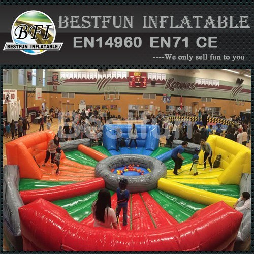 Hungry Hippos Human Interactive Inflatable Game