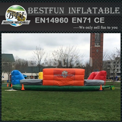 Inflatable Four Way Bungee Run Games