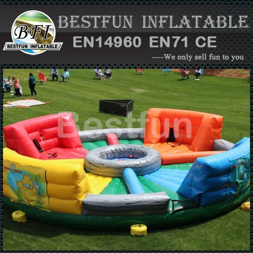 Hungry Hippo Inflatable Bungee Game
